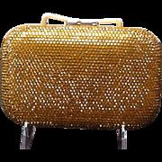 "Vintage Leiber Minaudiere with Swarovski Crystals ""MINT"""