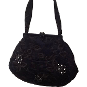 Vintage Koret Handbag with Embroidery and Jewels