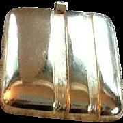 Vintage Oversized Lanvin Modernistic Pendant