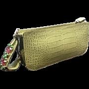 "Vintage Valentino ""Wristlet"" Purse with Jewels  ***Near Mint***"