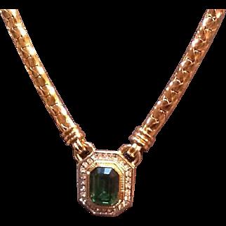 Vintage Lanvin Necklace with Classic Statement Piece