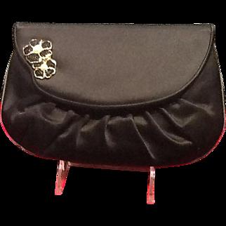 Vintage Leiber Evening Purse with Swarovski Jewel Accent