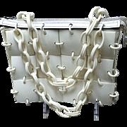 VIntage Meyers Mod Plastic Squares Handbag