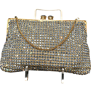 Vintage Austrian Crystal Evening Purse  ***Near Mint***