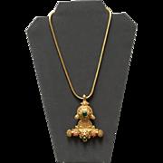 Vintage Onik Sahakian Statement Necklace with Jewels