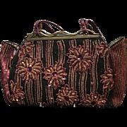 Vintage Jamin Puech Small Tote Style Dressy Handbag with Beading