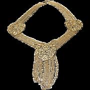 "Vintage Leiber Statement ""Heart"" Necklace"