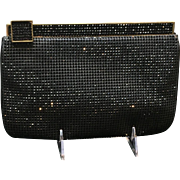 Vintage Leiber Handbag with Swarovski Crystals