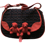 Vintage Moschino Iconic Bear Handbag