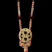 Vintage Rader Aztec/Mayan Statement Necklace