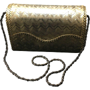 Vintage Rosenfeld Gold Tone Handbag