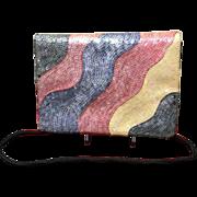 Vintage Susan Bennis Warren Edwards Sequined Handbag
