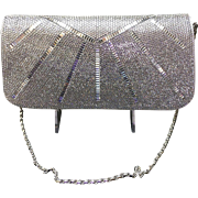 """Vintage Leiber Sunburst """"Delilah"""" Purse with Swarovski Crystals  ***NWT***"""