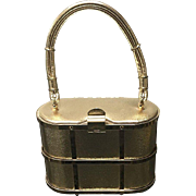 """Vintage Etra """"Cage"""" Handbag"""