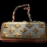 Vintage Delill Minaudière with Swarovski Crystals