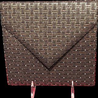 Vintage Diane Love Envelope Handbag with Art Deco Vibe *** NEAR MINT***
