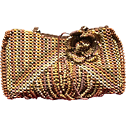 Vintage Jamin Puech Colorful Beaded Handbag