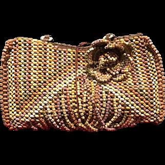 Vintage Jamin Puech Colorful Beaded Handbag