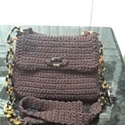 VIntage Handmade Designer Purse