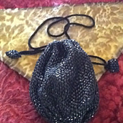 Vintage Designer Revivals Drawstring Evening Purse