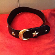 Vintage Glenn Miller for Ann Turk Designer Statement Belt