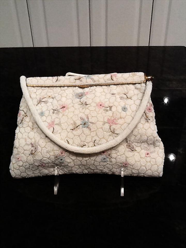 French Beaded Purse Elegant Vintage Handbags France