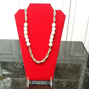 Vintage Givenchy Necklace with Lucite Decorative Balls