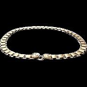 VIntage deLillo Gold Plated Chain  Belt