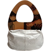 Vintage Patricia Smith Moon Bag with Huge Handles