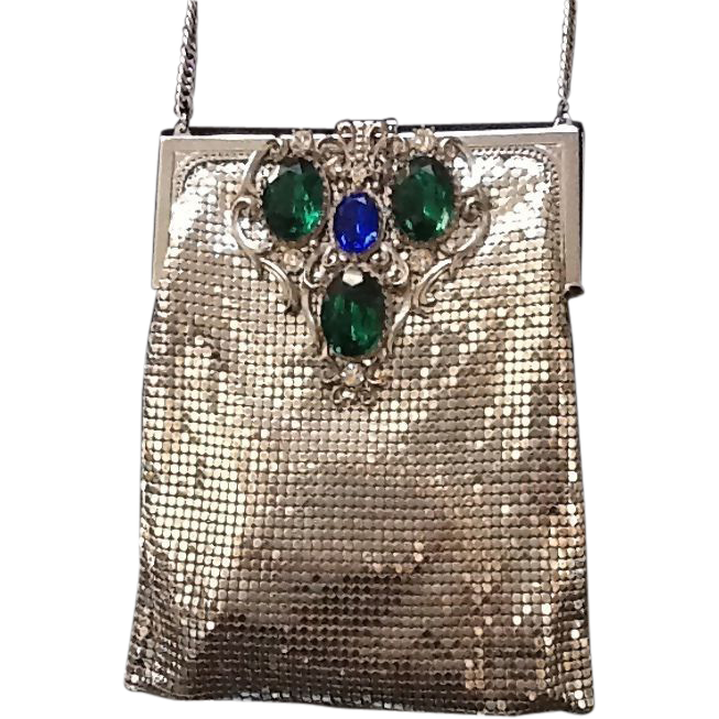 Vintage Whiting And Davis Mesh Purse 84