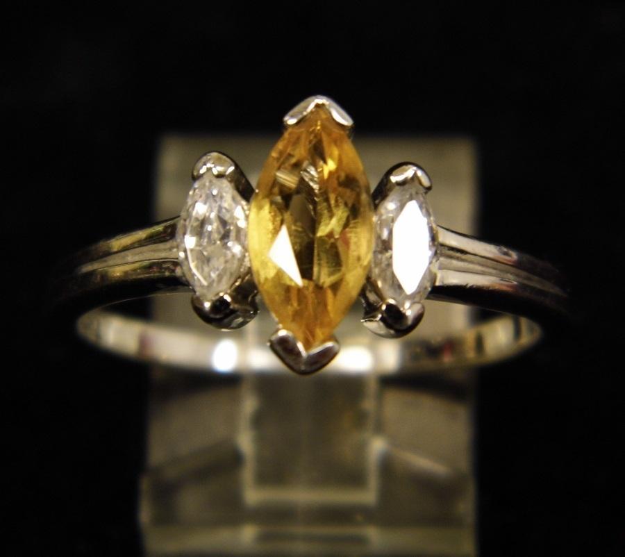Avon Jewelry Ring Cubic Zirconia