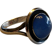 Vintage Niels Erik From Danish Sterling Silver Ring N E From Danmark