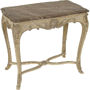 Louis XV style painted occasional table