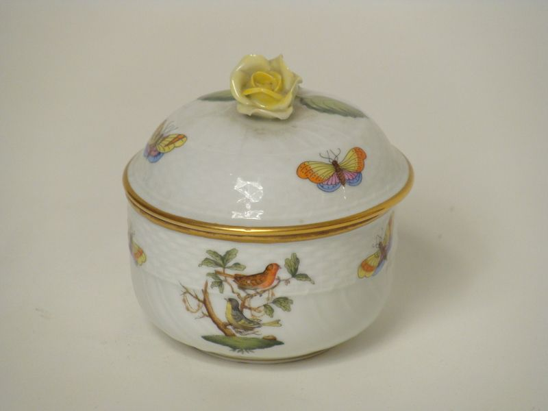 Herend porcelain covered sugar