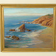 Edith Maude Miller coastal painting