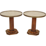 Pair of Neo classical tables
