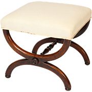 Charles X curule form bench