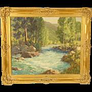 William Thomas McDermitt California landscape painting