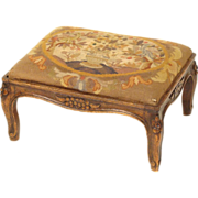 Louis XV provincial footstool