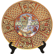 Rubboli majolica charger