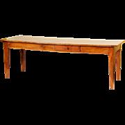 Directoire fruit wood farm table
