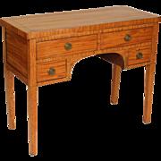 English Edwardian satinwood server or sideboard