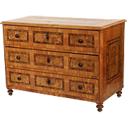 Continental neo classical chest of drawers