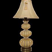 Murano glass table lamp