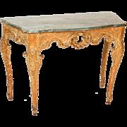 Italian Louis XV console table