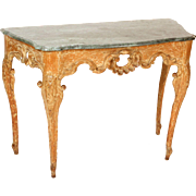 Italian Louis XV console table