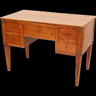 Louis XVI style continental desk