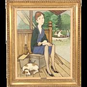 Philippe Henri Noyer painting