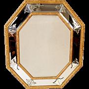 Venetian Napoleon III gilt wood mirror