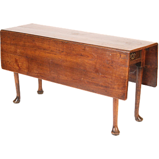 Antique Queen Anne style wake table
